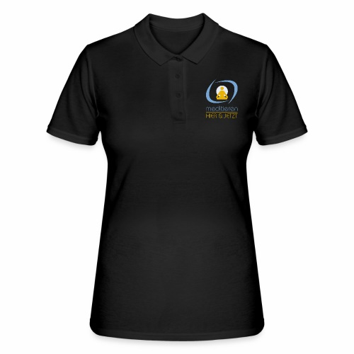 MeditierenHierJetzt.ch - Frauen Polo Shirt