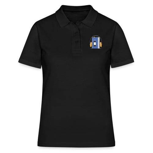 Stereo walkman in blue - Women's Polo Shirt