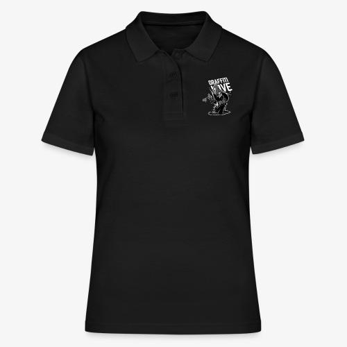 in flagranti graffiti love - Frauen Polo Shirt
