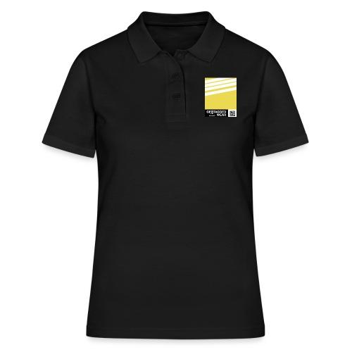 Unisex Stripes Pantone Trend S/S 18 Meadowlark - Frauen Polo Shirt