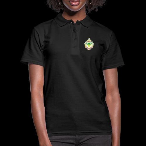 LION FACE RGG wht edge - Women's Polo Shirt