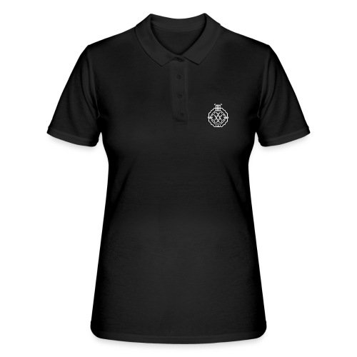 SSSF logo / emblem (vit) - Women's Polo Shirt