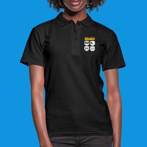 Kiss Bears square.png - Women's Polo Shirt