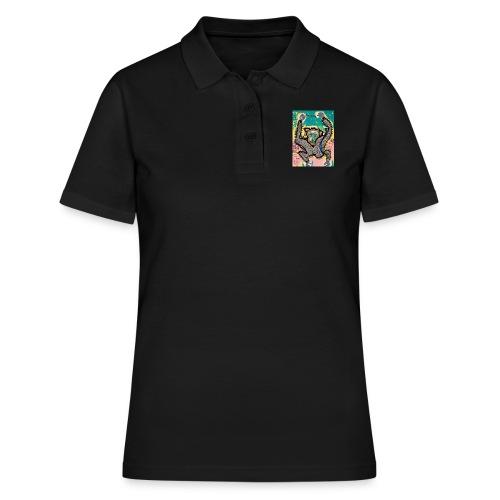 the monkey - Women's Polo Shirt