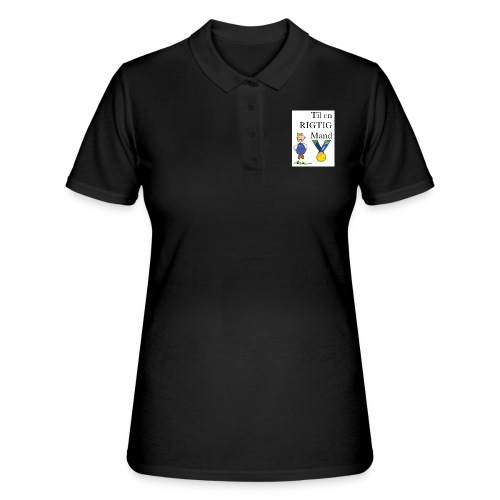 En rigtig mand - Women's Polo Shirt