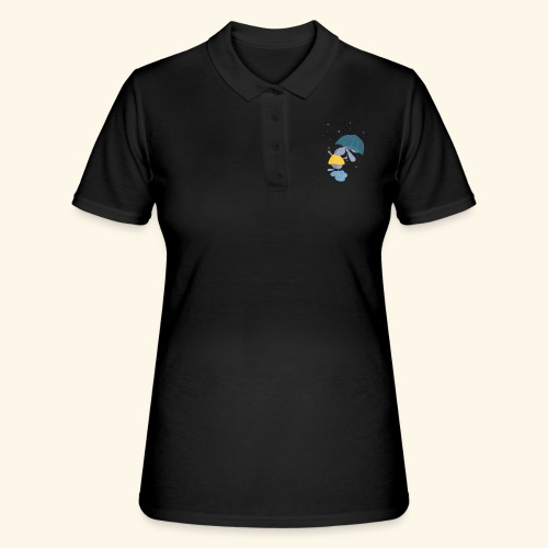 happy in the rain - Women's Polo Shirt