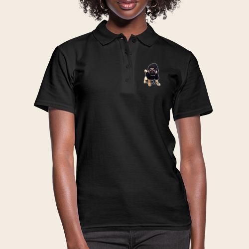 yo_mops_3 - Frauen Polo Shirt