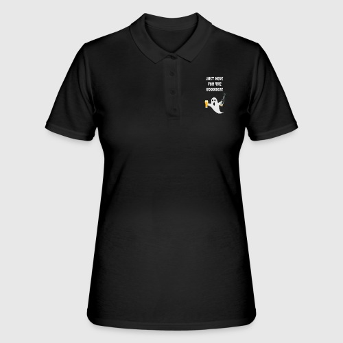 just here for the booze - Women's Polo Shirt