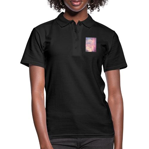 CANDY GLITCHED SKY - Women's Polo Shirt