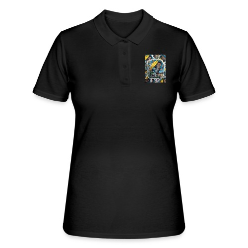 surf punk angry surf guy - Frauen Polo Shirt