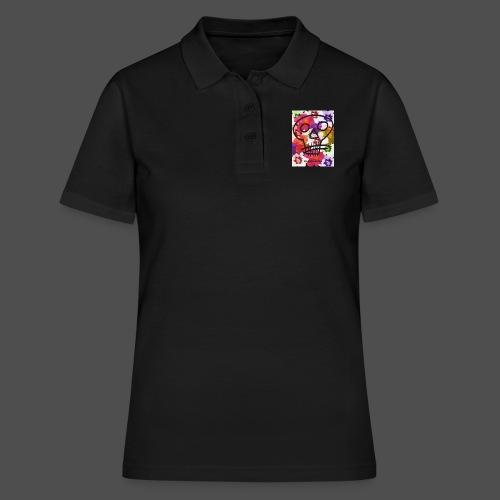Kwiaty Czaszki - Women's Polo Shirt