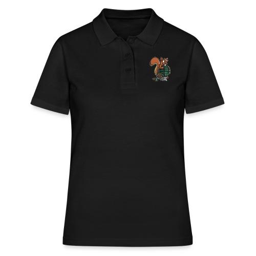 Eichhörnchen Granate - Frauen Polo Shirt