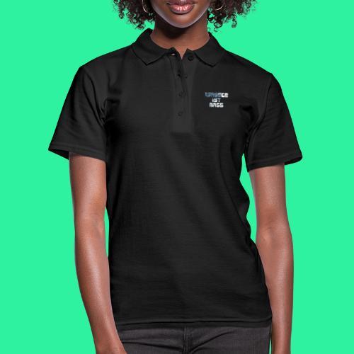 WASSER - Frauen Polo Shirt