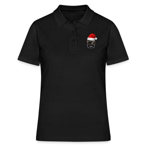 Die Zock Stube - Robot-Head Christmas - Frauen Polo Shirt