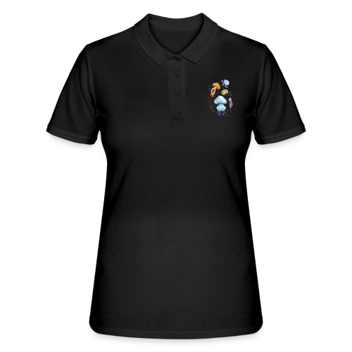 Méduses de France - Women's Polo Shirt