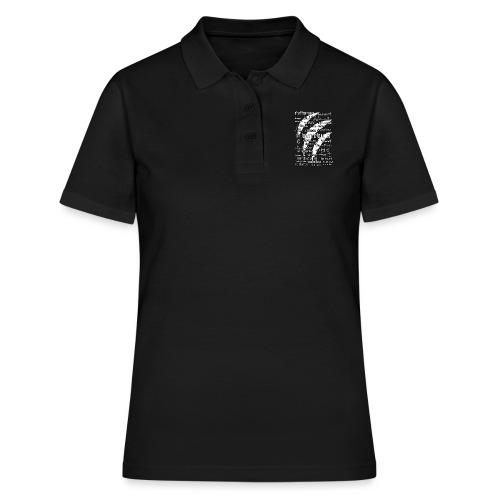 Werewolf in 33 Languages (Black Ver.) - Women's Polo Shirt