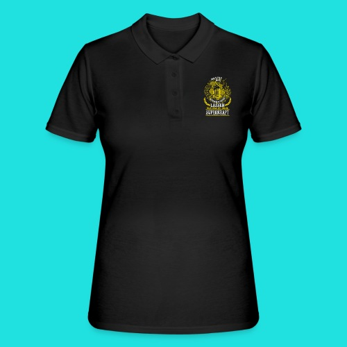 Bier Superkraft - Frauen Polo Shirt
