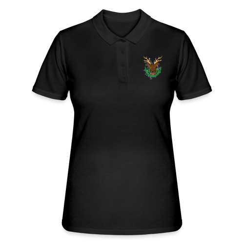 Christmas Deer - Frauen Polo Shirt