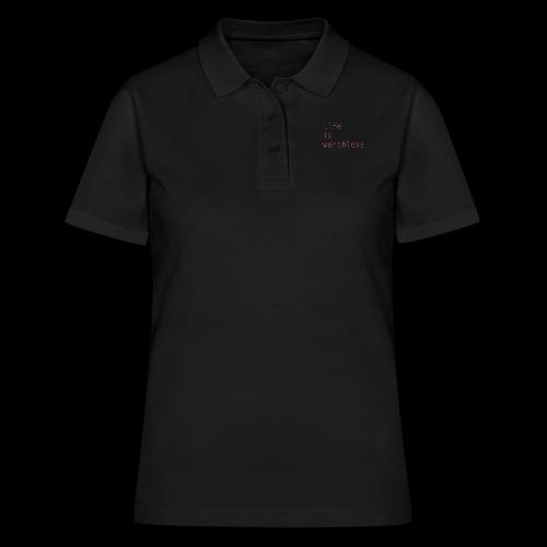 life2 - Frauen Polo Shirt