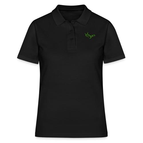 Vegaani käsinkirjoitettu design - Naisten pikeepaita