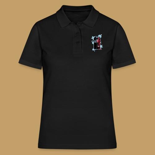 Hi-Score: Crazy Neon - Koszulka polo damska