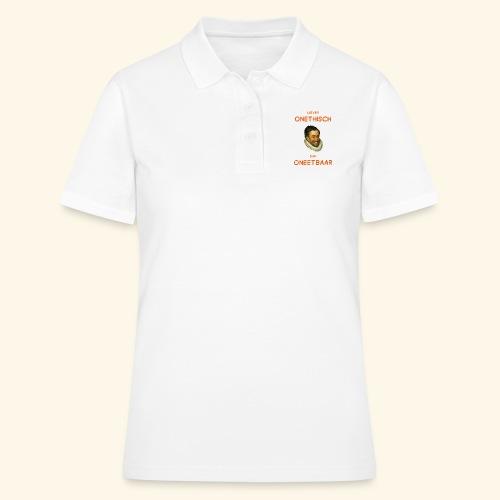 Liever onethisch dan oneetbaar - Women's Polo Shirt