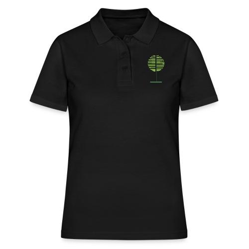 Zielone drzewo - Women's Polo Shirt
