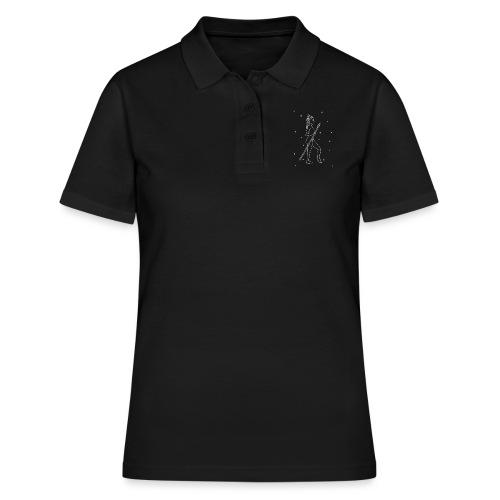 Ręcznie rysowana Bogini Atena - Women's Polo Shirt