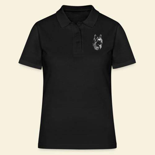 Schäferhund Portrait - Frauen Polo Shirt