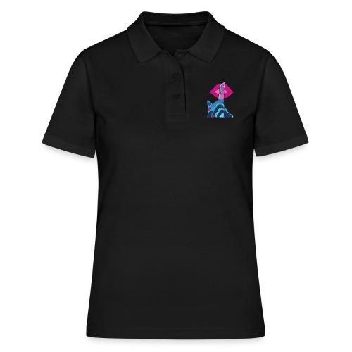 JustLov t-shit - Big Kiss - Women's Polo Shirt
