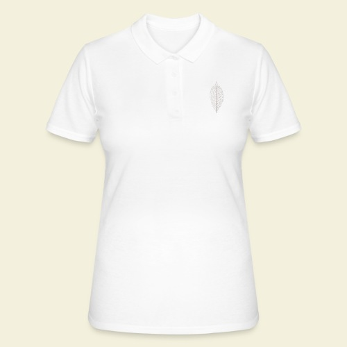Feuille marron Squelette - Women's Polo Shirt
