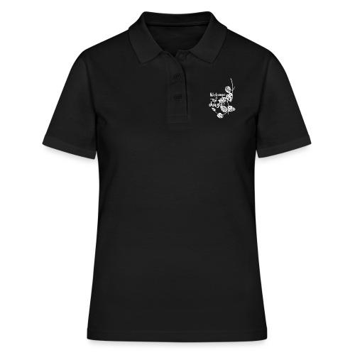 Jungle White - Frauen Polo Shirt