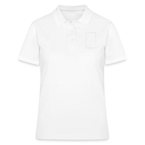 Steeti - White on black - white edition - Women's Polo Shirt