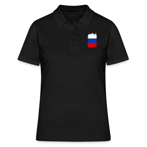 Russland - Frauen Polo Shirt