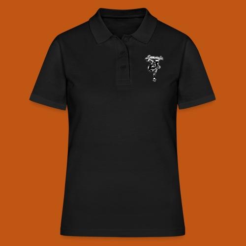 Skater / Skateboarder 03_schwarz weiß - Frauen Polo Shirt