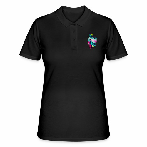 HAPPY SQUARES - Women's Polo Shirt