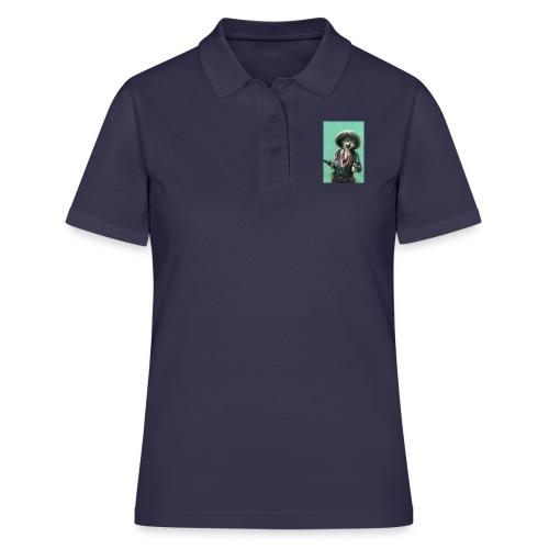Vintage kitten Cow Girl - Women's Polo Shirt