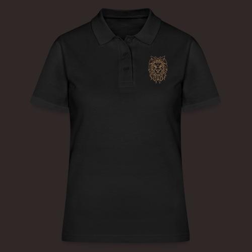 Löwe | Tier Katze Raubkatze Wildtier - Frauen Polo Shirt