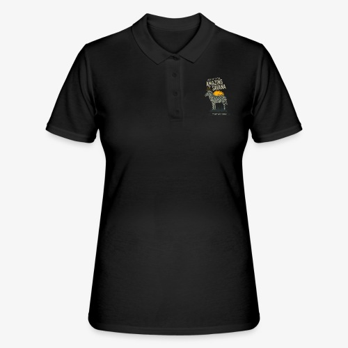 Zebra - Frauen Polo Shirt