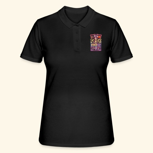 Whisky T Shirt Peatnik für Whiskykenner - Frauen Polo Shirt