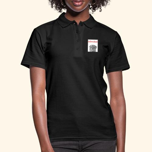 WANTED Rottweiler - Women's Polo Shirt