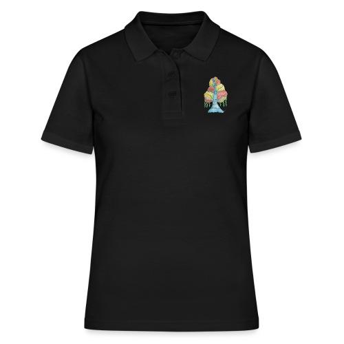 albero_alma_2015_2 - Women's Polo Shirt