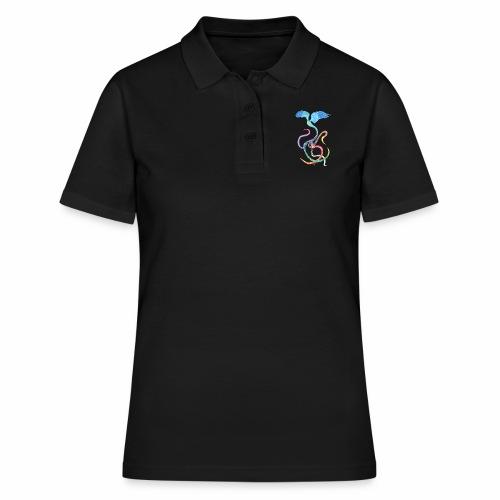 Gracieux - Oiseau arc-en-ciel à l'encre - Women's Polo Shirt