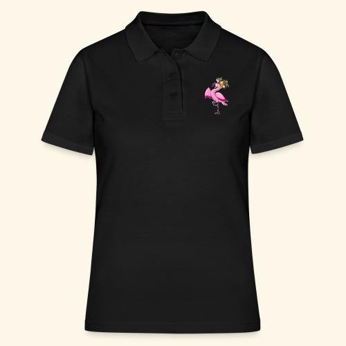 Flamingo - Frauen Polo Shirt