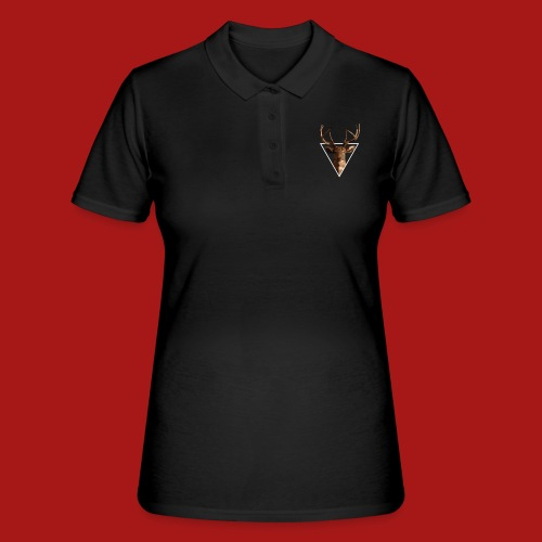 Deer-Head GOLD - Women's Polo Shirt