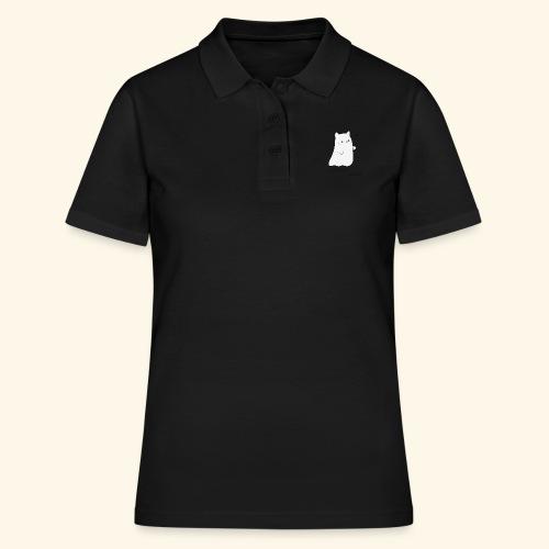 Cat ghost Halloween - Frauen Polo Shirt