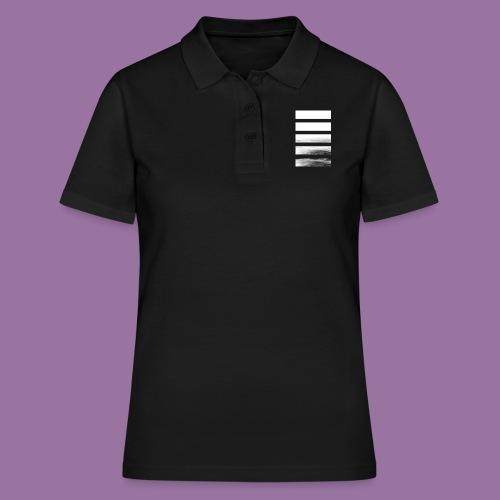 Stripes Horizontal White - Women's Polo Shirt