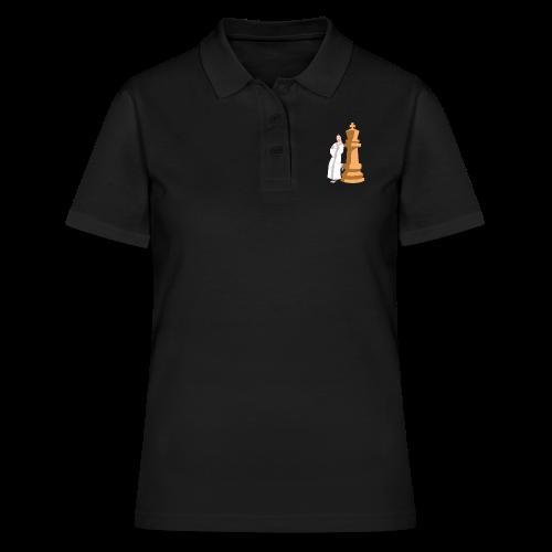 Samurai with King - Women's Polo Shirt