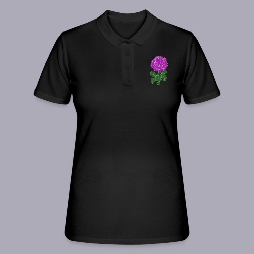 Landryn Design - Pink rose - Women's Polo Shirt