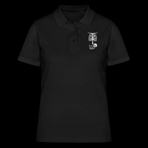 Baby Skelett US Version Maternity / Schwangerschaf - Frauen Polo Shirt